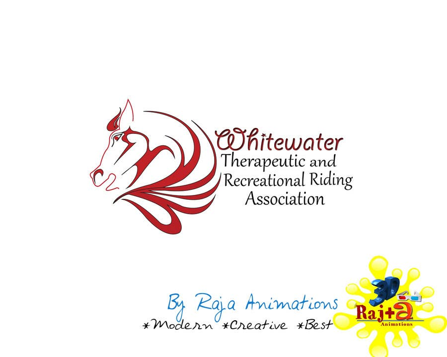 Inscrição nº 74 do Concurso para Logo Design for Whitewater Therapeutic and Recreational Riding Association