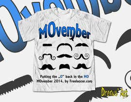 #32 untuk Design a T-Shirt for MOvember T-shirt Design oleh DrenusArt
