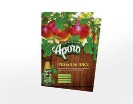 Nro 8 kilpailuun A4 flyer design for juice käyttäjältä dileeshsimon