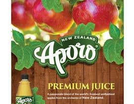 Nro 9 kilpailuun A4 flyer design for juice käyttäjältä dileeshsimon