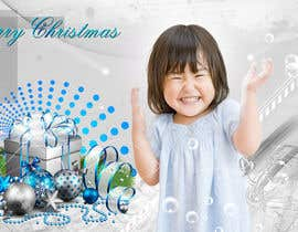 #2 cho Digital Christmas card - style silver_glass bởi majasdigital