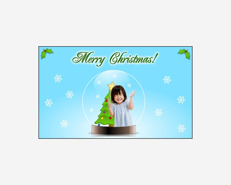 #9 for Digital Christmas Card_Style Retro by codefive