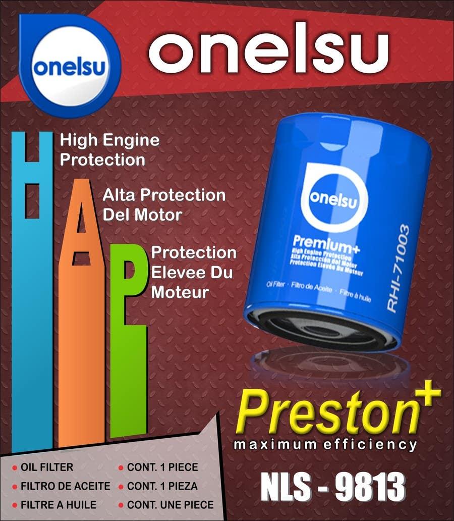 Bài tham dự cuộc thi #63 cho onelsu  packaging design - File must be RGB, but colors must look good on CMYK (printing)