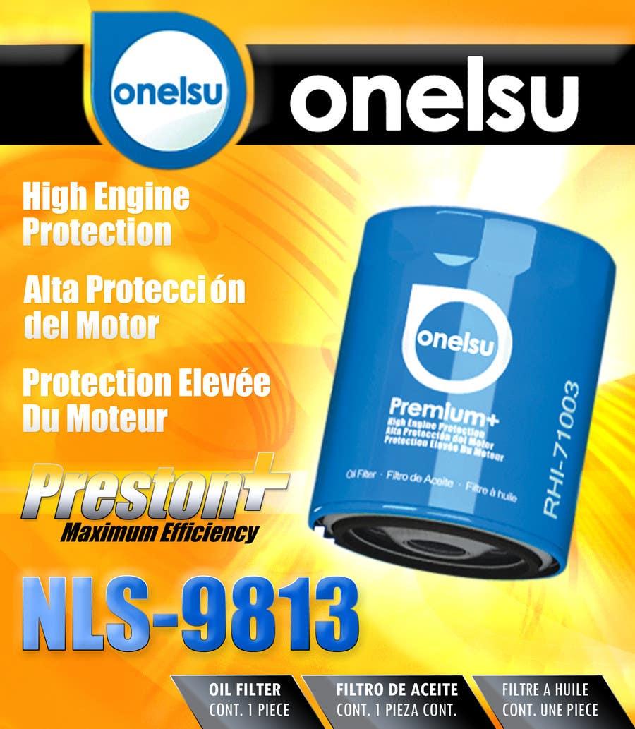 Bài tham dự cuộc thi #51 cho onelsu  packaging design - File must be RGB, but colors must look good on CMYK (printing)