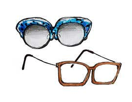 #7 for Fashion Illustrations of Spectacles and Office Equipment for Website by chi219