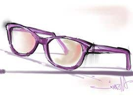nonie26 tarafından Fashion Illustrations of Spectacles and Office Equipment for Website için no 6