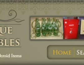 nº 3 pour New Design header for an antique/vintage/retro web site par blackd51th