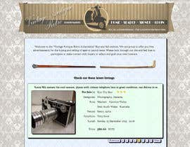 #5 cho New Design header for an antique/vintage/retro web site bởi DruMita