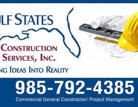 Nro 36 kilpailuun Design a Construction Company's Sign käyttäjältä amitcreative007