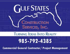 #7 for Design a Construction Company's Sign by Gsrikumar