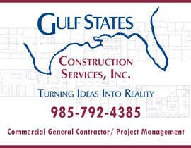 #8 for Design a Construction Company's Sign by Gsrikumar