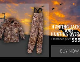#7 for Sliding banner photos for a hunting and fishing website by edisontoh