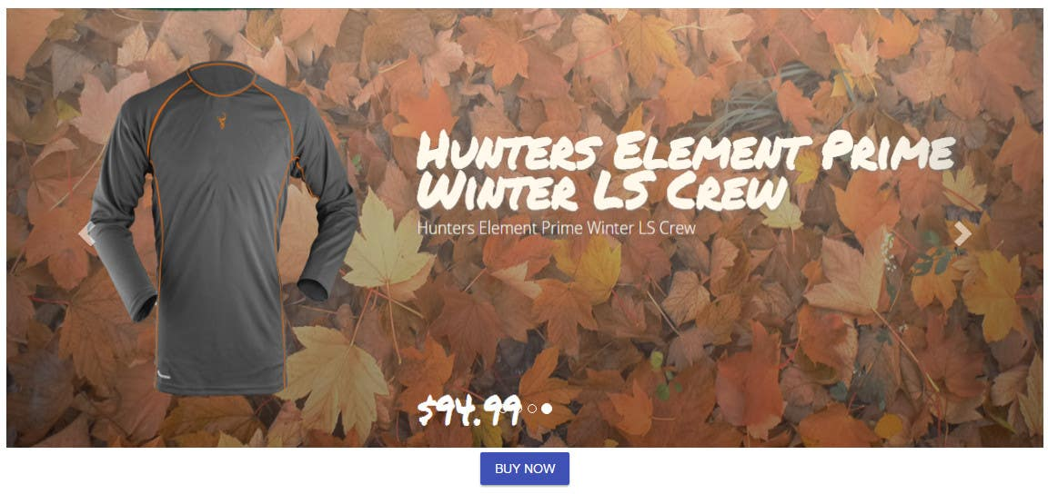 Contest Entry #                                        6                                      for                                         Sliding banner photos for a hunting and fishing website