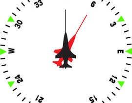 Nro 9 kilpailuun Draw an airplane compass käyttäjältä danesebastian