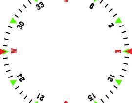 Nro 22 kilpailuun Draw an airplane compass käyttäjältä danesebastian