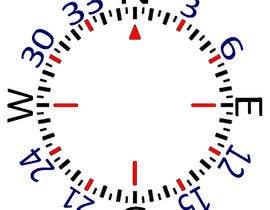 Nro 30 kilpailuun Draw an airplane compass käyttäjältä MrIfi