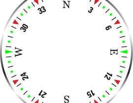 Nro 17 kilpailuun Draw an airplane compass käyttäjältä Naseem065
