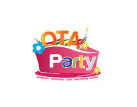#84 para Logo design for Ota Party de todeto