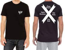 Nro 5 kilpailuun Tshirt design for up and coming brand käyttäjältä icecad49