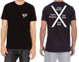 Nro 6 kilpailuun Tshirt design for up and coming brand käyttäjältä icecad49