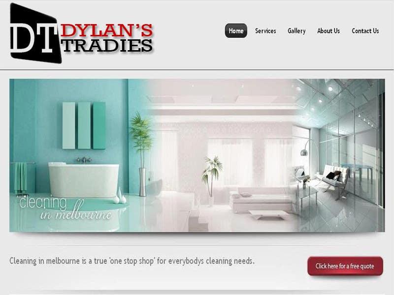 Proposition n°                                        46                                      du concours                                         Logo Design for Dylan's Tradies