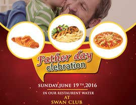 ShaikBaized tarafından Father's Day Flyer for our Restaurant için no 14