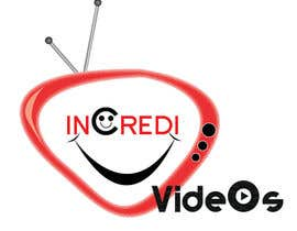 #20 for Logo for a funny/viral videos project name IncrediVideos by zaibiiui1150