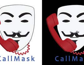 #11 para Design a Logo for Call Mask por leewinter