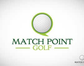 "Arts360 tarafından Design a Logo for ""Match Point Golf"" için no 82"