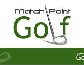 "LogoDesigNext tarafından Design a Logo for ""Match Point Golf"" için no 10"