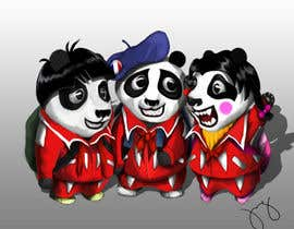 #76 for Illustration Design for Animation illustration for Panda cubs. af onineX