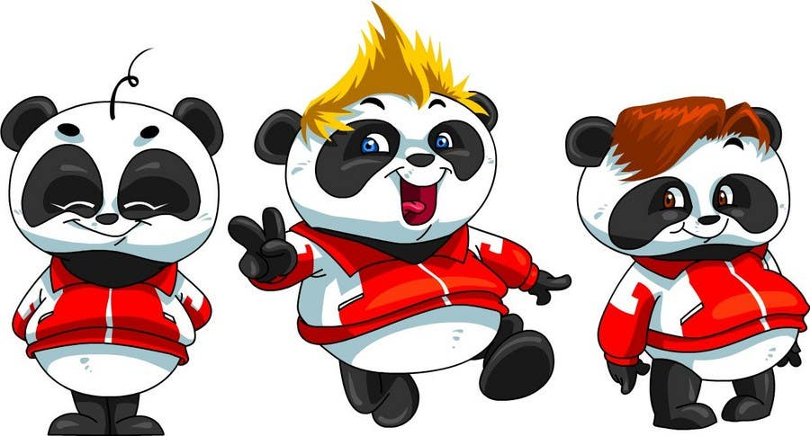 Contest Entry #52 for Illustration Design for Animation illustration for Panda cubs.