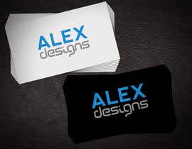 nº 28 pour Design a Logo for Alex Designs par creativeblack