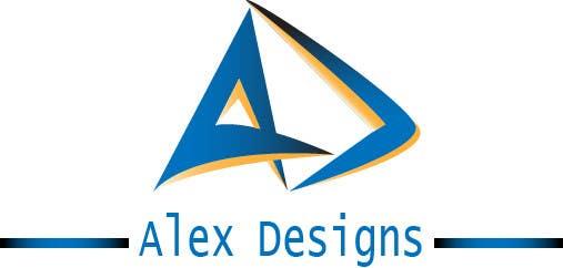 Penyertaan Peraduan #77 untuk Design a Logo for Alex Designs