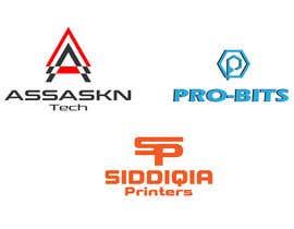 Nro 22 kilpailuun Designing three logos käyttäjältä gopiranath