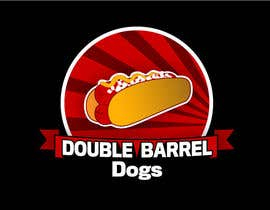 #66 para Double  barrel dogs por rcatdesign