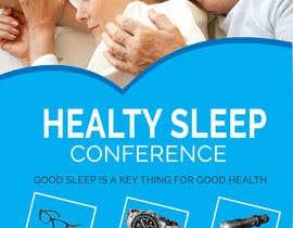 Nro 12 kilpailuun Design a Banner for healty sleep conference käyttäjältä SLP2008