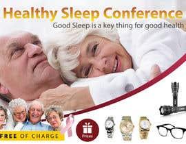 Nro 5 kilpailuun Design a Banner for healty sleep conference käyttäjältä cahkuli