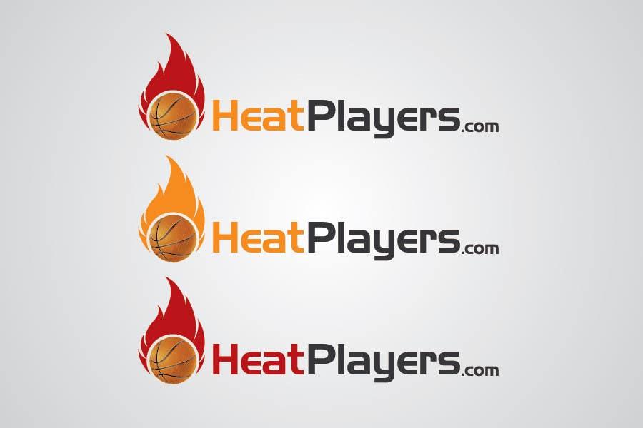 Design a Logo for HeatPlayers.com için 14 numaralı Yarışma Girdisi
