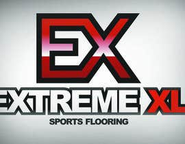 #72 for Design a Logo for Extreme and Extreme XL Sports Flooring by dimassoeryoadji