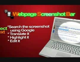 nº 2 pour URGENT! Create a Video PROMO for Webpage Screenshot Bar par vw7394259vw
