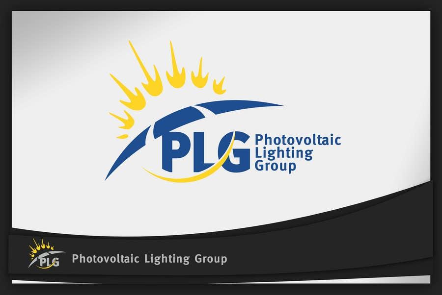 Kilpailutyö #290 kilpailussa Logo Design for Photovoltaic Lighting Group or PLG