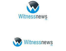 nº 19 pour Design a Logo for witnessnews.net par mega619