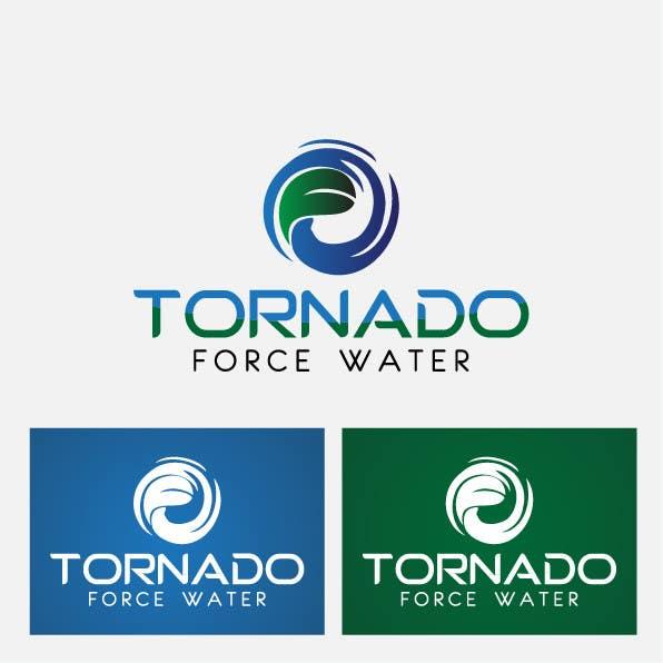 """Penyertaan Peraduan #57 untuk Design a Logo for """"Tornado Force"""" water"""