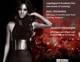 #14 untuk Design a Fashion School Catalog and Flyer for LegsApparel oleh mydZnecoz