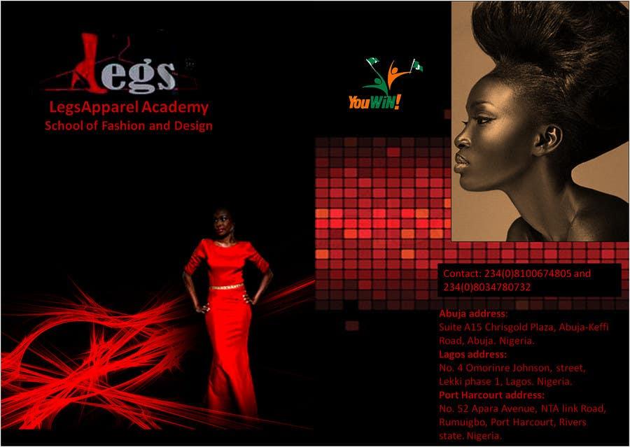 Konkurrenceindlæg #                                        10                                      for                                         Design a Fashion School Catalog and Flyer for LegsApparel