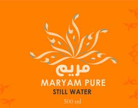 #76 for Design a Logo for Maryam Still Water af Coolriz