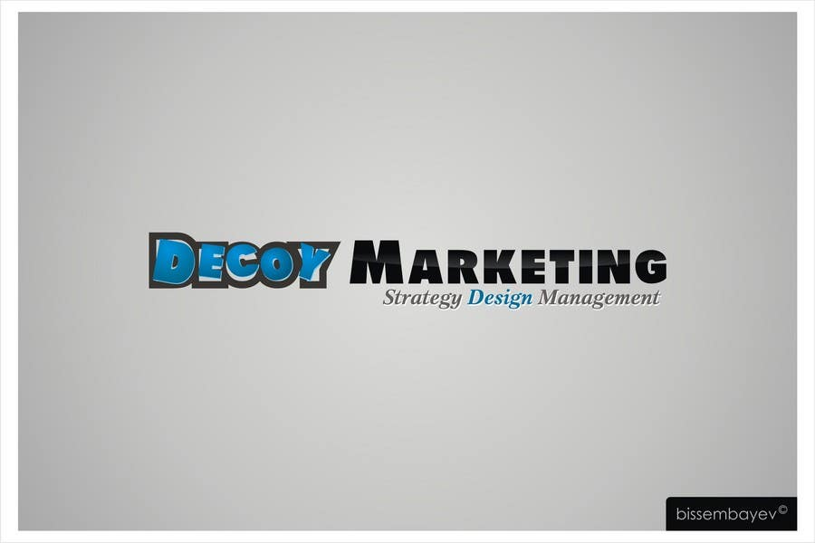 Proposition n°44 du concours Logo Design for Decoy Marketing