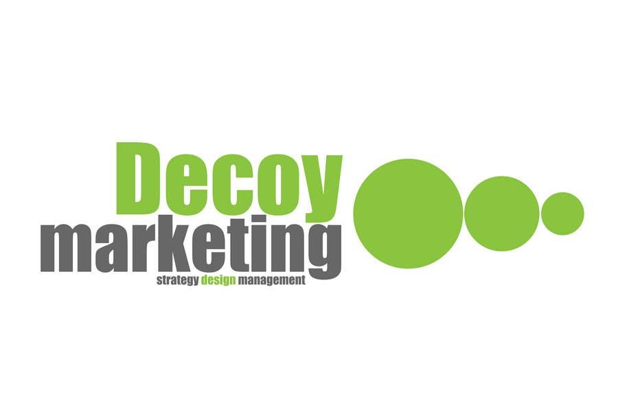 Wettbewerbs Eintrag #94 für Logo Design for Decoy Marketing