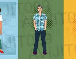 avijitsil009 tarafından Design 4 characters - 2 male and 2 female için no 9
